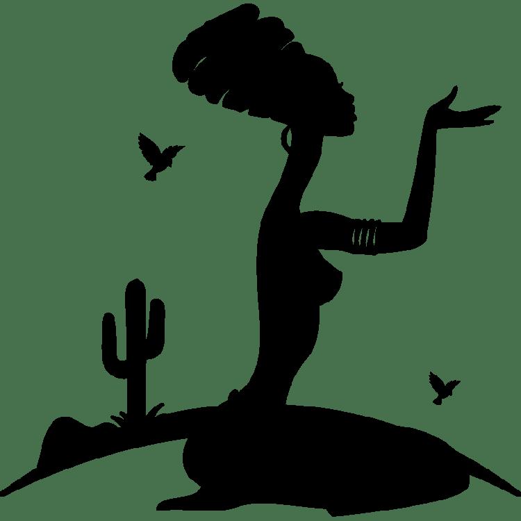 sticker-femme-africaine-a-genoux-ambiance-sticker-KC7518